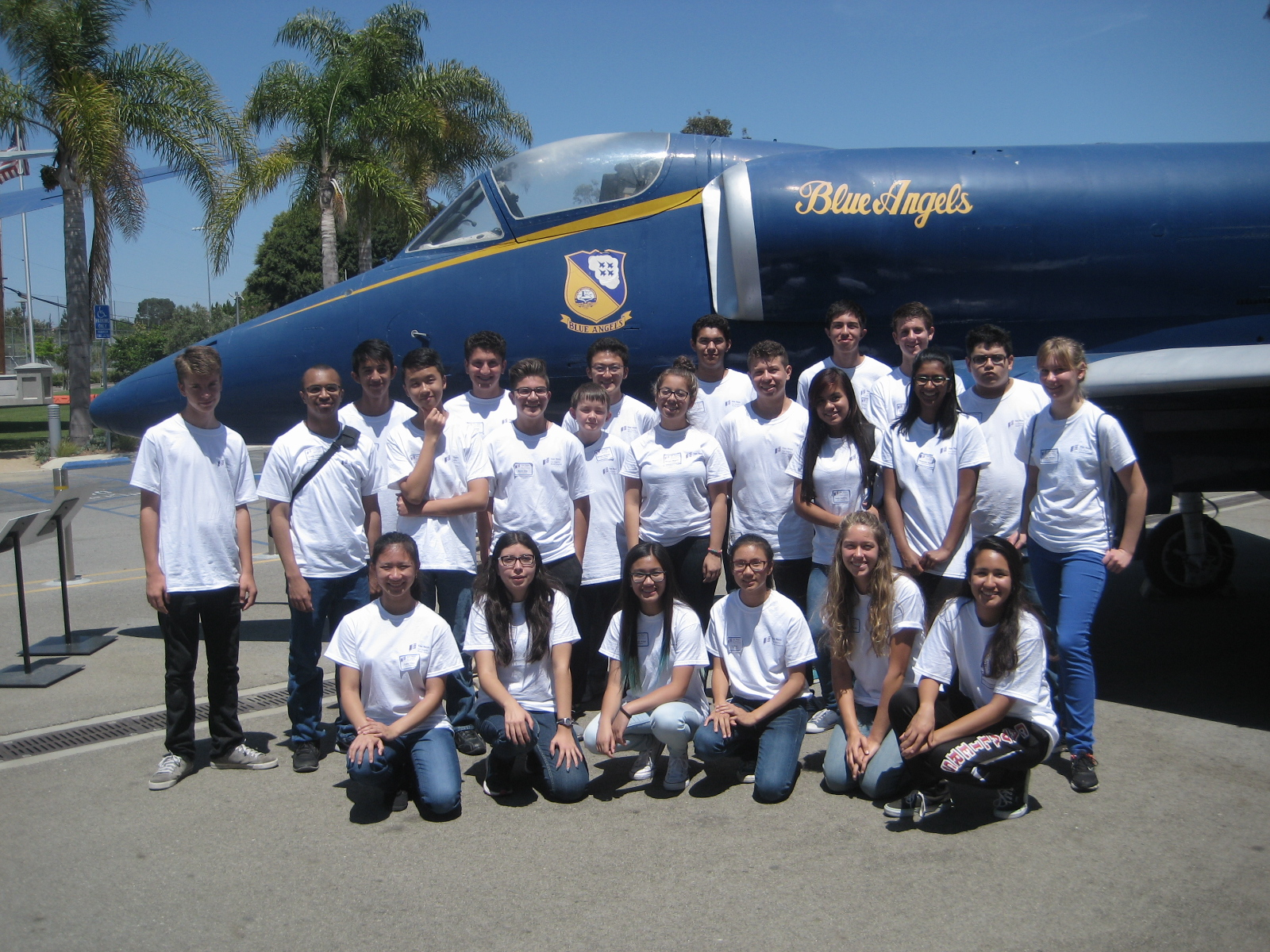 Students at Aviation Careers Education